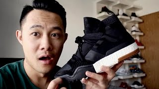 hypebeast alert 13 adidas x alexander wang aw bball sneakers review sizing on feet