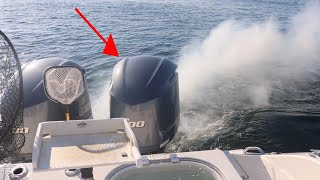 We blew up a $30,000 Yamaha 300 Outboard Motor!