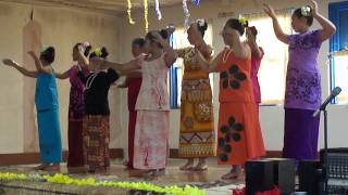 Pacific Dance NZ Siva Samoa Level 2