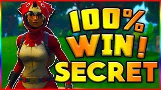 SECRET WAY TO WIN!! Fortnite Battle Royale (50 vs 50)