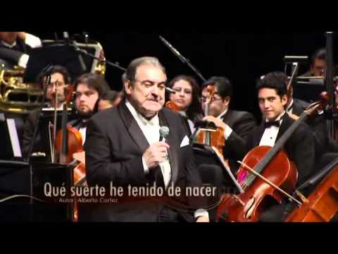 Alberto Cortez Que Suerte He Tenido De Nacer