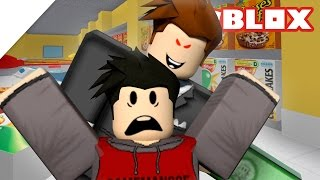 Roblox Escape the Supermarket Obby | EVIL MANAGER!
