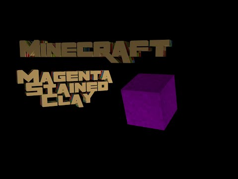 How Does Minecraft Work - Ep 065 - Magenta Stained Clay