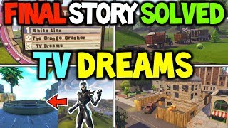 "*NEW* Fortnite ""TV DREAMS"" SEASON 4 STORYLINE EXPLAINED! OMEGA + OBLIVION THE REAL PLAN & ENDING!"