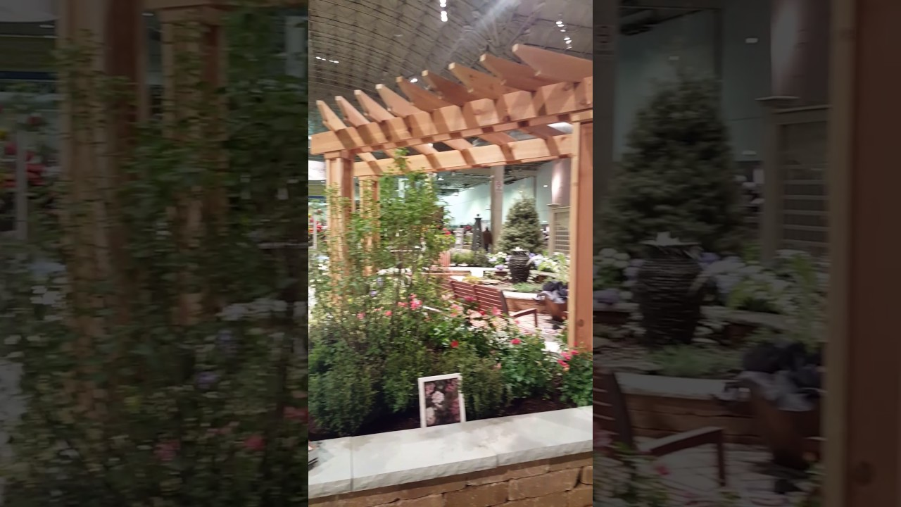 Quick Glance Of The Chicago Flower And Garden Show 2017 Youtube