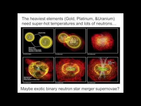 """""""We are made of star stuff"""": The Origin of the Elements (Part 2 of 2)"""