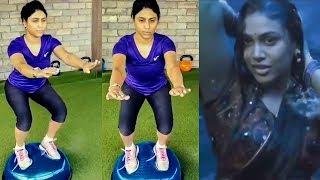 Soppana Sundari's Workout Video! | Manisha Yadav