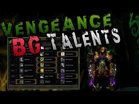 Vengeance Demon hunter   Random Battleground Talents Options