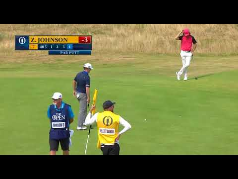 Tommy Fleetwood,Zach Johnson The Open Championship 2018 Final Round