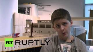 Iceland: Lego help autistic boy build SUPER LARGE Titanic replica