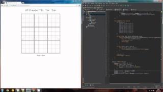 Live-Coding: Ultimate Tic Tac Toe [Français, English subs]