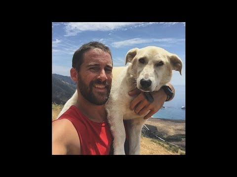 Craig Grossi, Author, Craig and Fred: A Marine, A Stray Dog, and How They Rescued Each Other