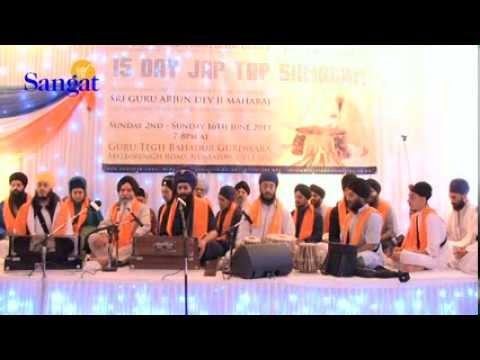 Bhai Navreet Singh Ji & Bibi Satnam Kaur Ji  Jap Tap Samagam 2013