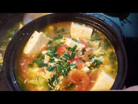 Cách làm món canh trứng đậu phụ ngon tuyệt!