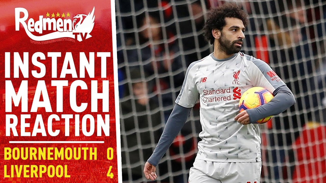 Bournemouth v Liverpool 0-4 | Instant Match Reaction - YouTube