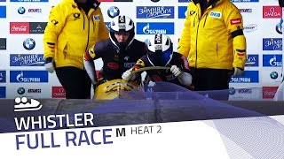 Whistler | BMW IBSF World Cup 2015/2016 - 2-Man Bobsleigh Race 2 (Heat 2) | IBSF Official