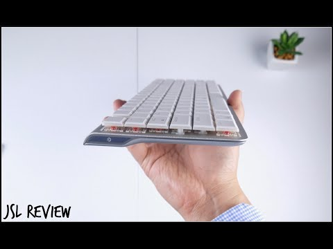 download WORLD'S THINNEST BLUETOOTH MECHANICAL KEYBOARD - DREVO Joyeuse Unboxing and First Impressions!!