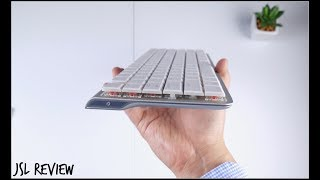 WORLD'S THINNEST BLUETOOTH MECHANICAL KEYBOARD - DREVO Joyeuse Unboxing and First Impressions!!