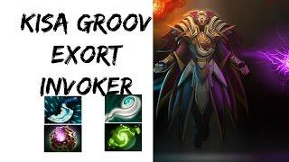 Kisa.Groov Invoker Pro Gameplay | Dota 2 Reborn | Malaysia