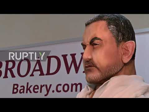 Bollyfood! Dubai bakery makes INSANE $40,000 cake in honour of Indian independence