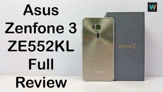 Asus Zenfone 3 Full Review (ZE552KL) | Unboxing, Hands on, Performance, Camera test & Comparison