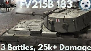 Wotb: Triple deathstar | 3 battles | 25k+ dmg