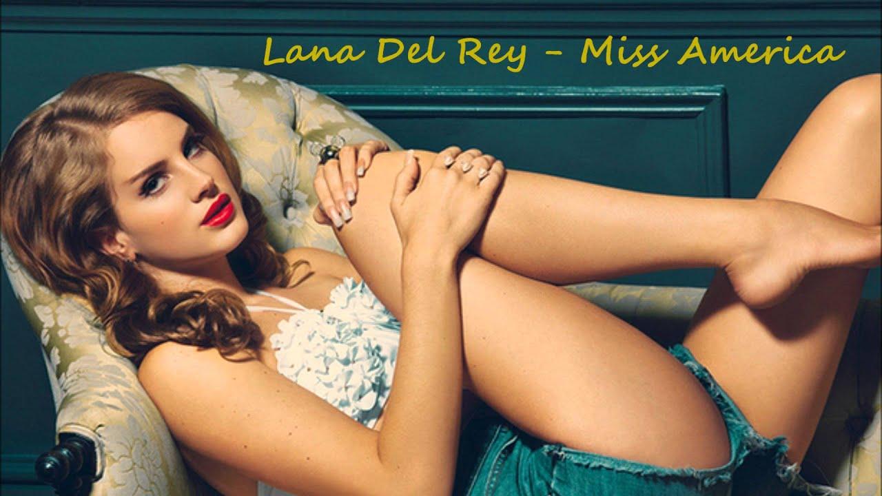 Lana Del Rey Miss America Trash With Lyrics Youtube