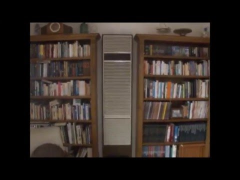 1985 Vulcan Quasar Gas Wall Furnace Heater - YouTube