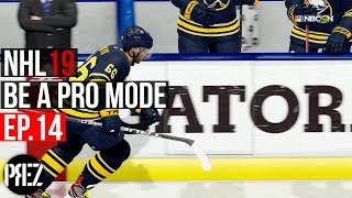 NHL 19 Be A Pro Mode - WE GOT OUR FIRST GOAL EVER!!! Ep.14 (Xbox One X)