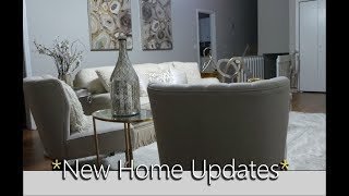 HOME UPDATES  &  NEW DECOR