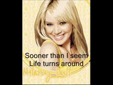 Raise Your Voice by Hilary Duff