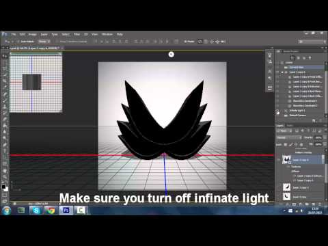 how to make 3d logo in photoshop