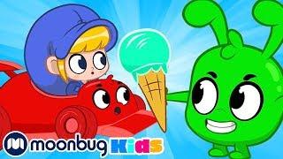My Magic Pet Morphle - Morphle Vs Orphle Icecream Race | Full Episodes | Funny Cartoons for Kids