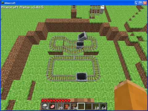 how to make a redstone track
