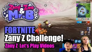 Trying to get 1 kill in Fortnite! (Zany Z's Let's Play)