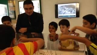 زيارة مدرسة البراء بن مالك لمعرض المشاريع التنموية العملاقة بالمدينة المنورة