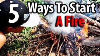 5 Ways To Start A Survival Fire - Kid Prepper