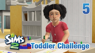 Let's Play The Sims 2 || Seven Toddler Challenge || 5 || Chaotic Last Day - FINALE
