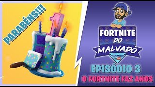 POP-FIGURES AND BIRTHDAY CAKE? | Ep3 Fortnite do Evil | GIVEAWAY COMPLETED