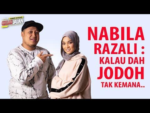 Nabila Razali : Kalau dah Jodoh tak kemana..   Celebrity On Board Gegar Jalan