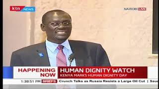 Human Dignity watch: Kenya celebrates 70 years of human rights Declaration