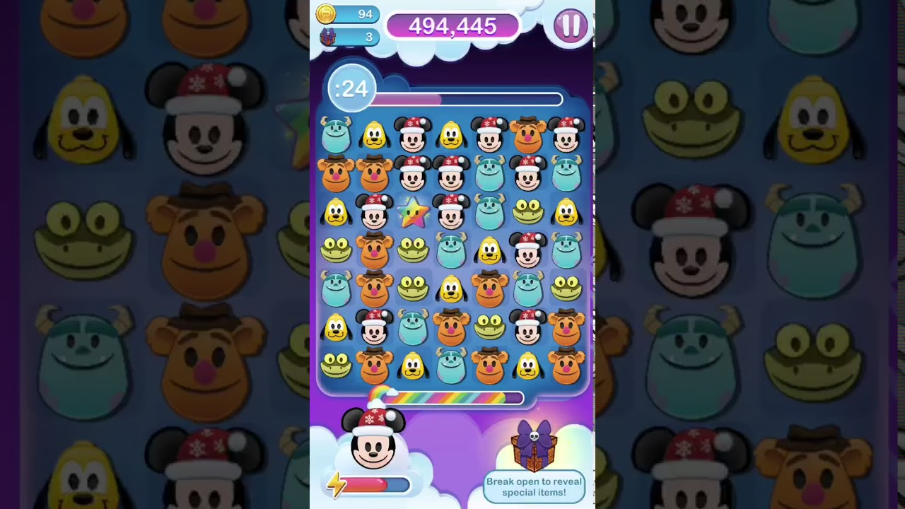 disney emoji blitz nightmare before christmas item event gameplay