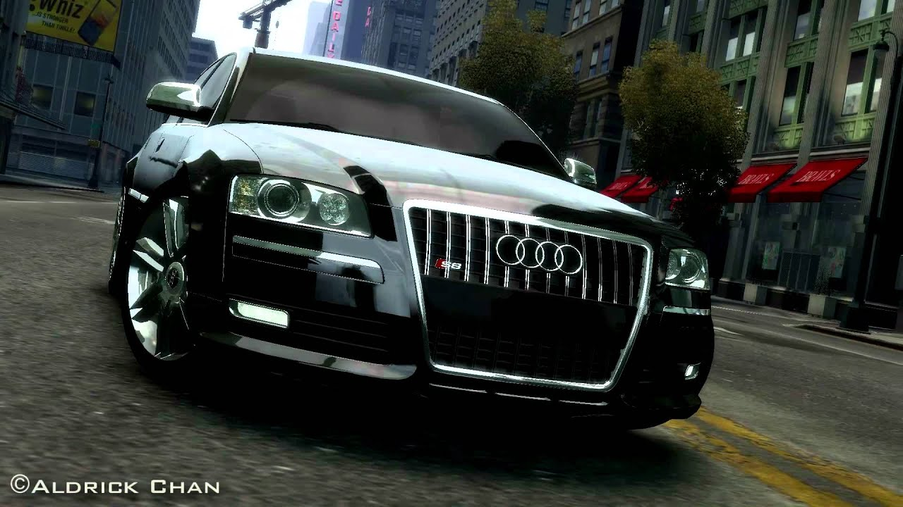 gta 4 audi s8 v10 5 2 tdi quattro 1080p hd youtube. Black Bedroom Furniture Sets. Home Design Ideas