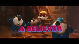 Jeremy Renner - quotBelieverquot Arctic Dogs Official Lyric Video