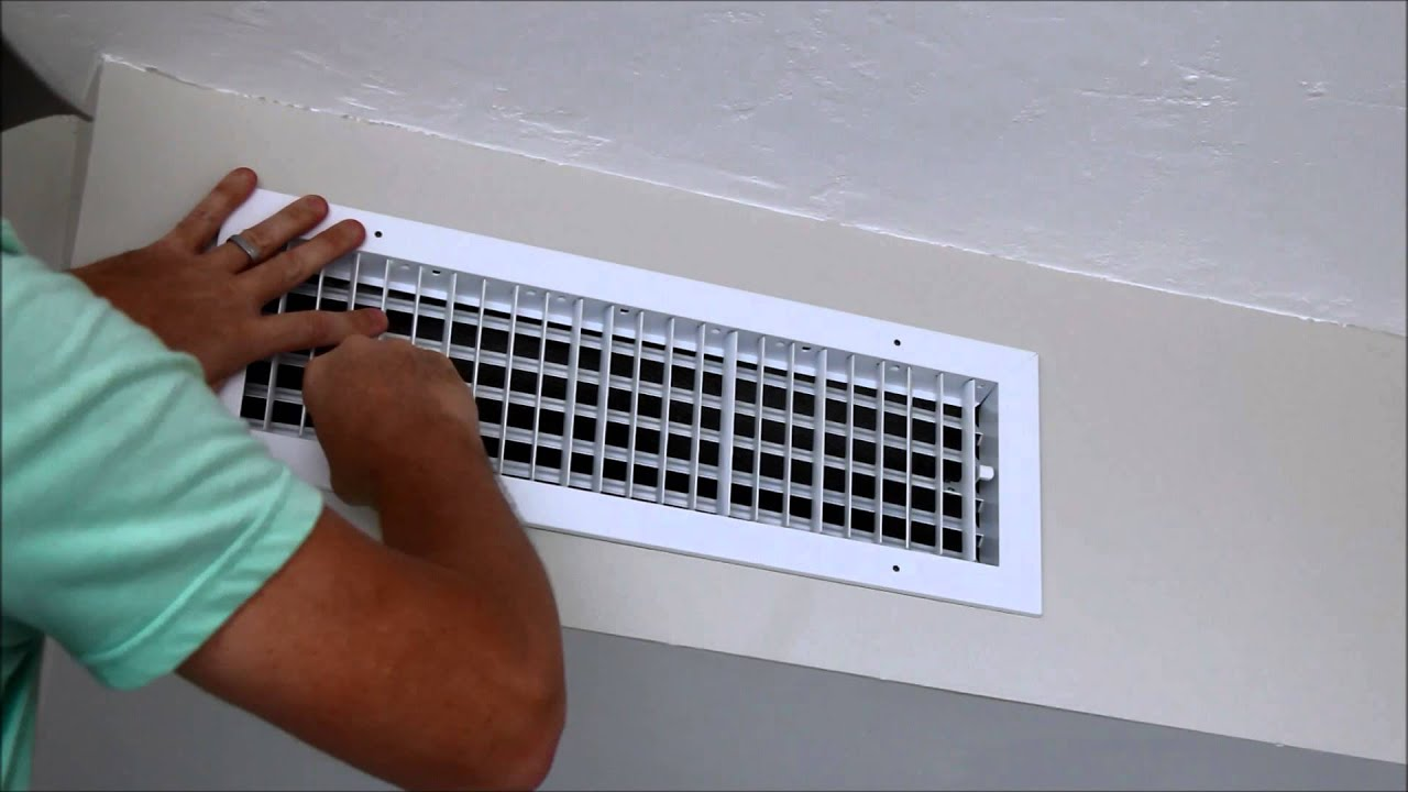 Home Decorating Show How To Install A New A C Register Youtube