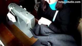 Как сшить пальто от А до Я. Часть 5(6)(Как сшить пальто от А до Я. Видео состоит из 6-и частей. Общая продолжительность 2 часа 25 минут., 2012-09-02T20:47:34.000Z)