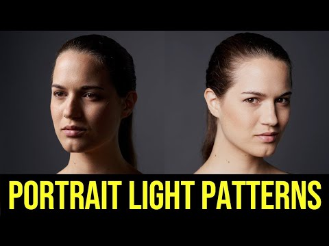 Off Camera Flash Photography Tutorial // Beginner Portrait Light Patterns