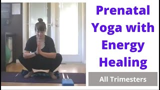Prenatal Yoga Class with Energy Healing  38min