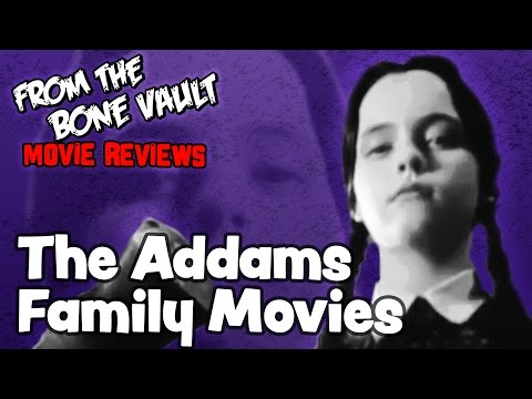 The Addams Family (1991) & Addams Family Values (1993) Movie Reviews | FROM THE BONE VAULT