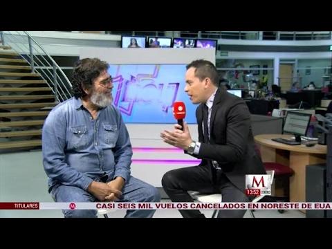 Celso Piña en entrevista con Milenio TV